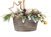 detail vianočného košíka