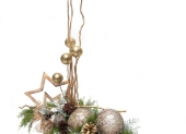 vianočné ozdoby s hviezdičkou