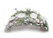 vianočná výzdoba -ikebany, dekorácie