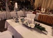 vianočná výzdoba na stôl