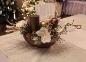 ikeban na vianočný stôl