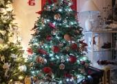 vianočný stromček s 3D ihličím