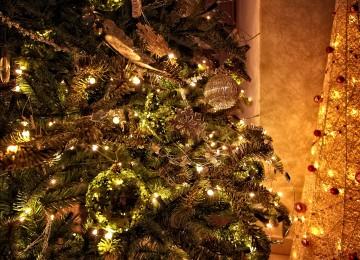 vianočné ozdoby detail