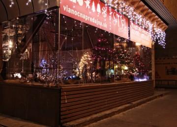 vonkajšia vianočná výzdoba
