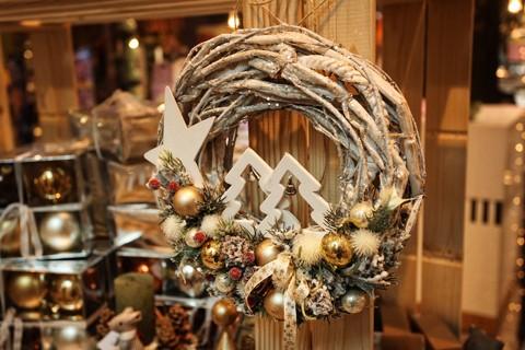 Vianočná predajňa v Bratislave