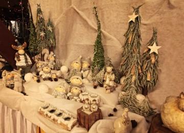 malé vianočné dekorácie