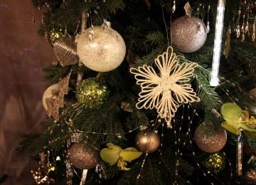 vianočné ozdoby vločka