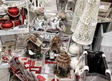 vianočná predajňa